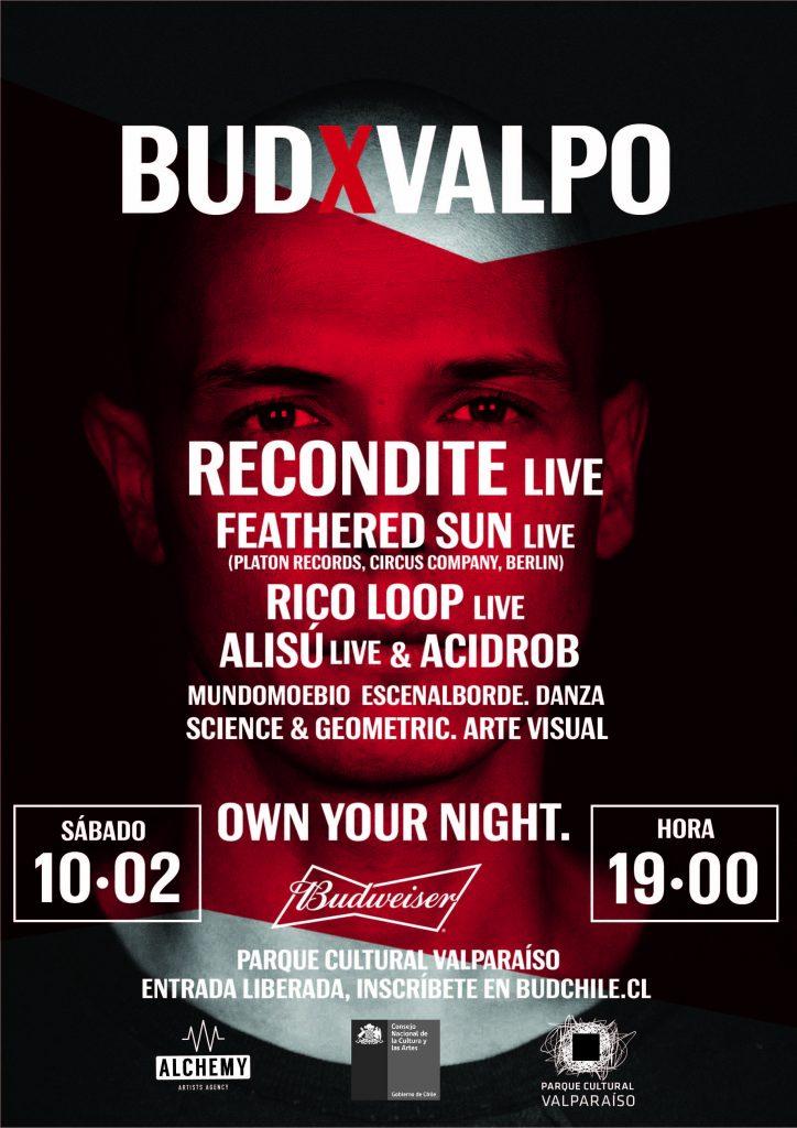 "Budweiser trae ""BUD X Valpo"": Cultura y energía internacional"