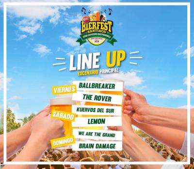 Bierfest 2018, el panorama santiaguino del verano con buena música y variedades de cerveza