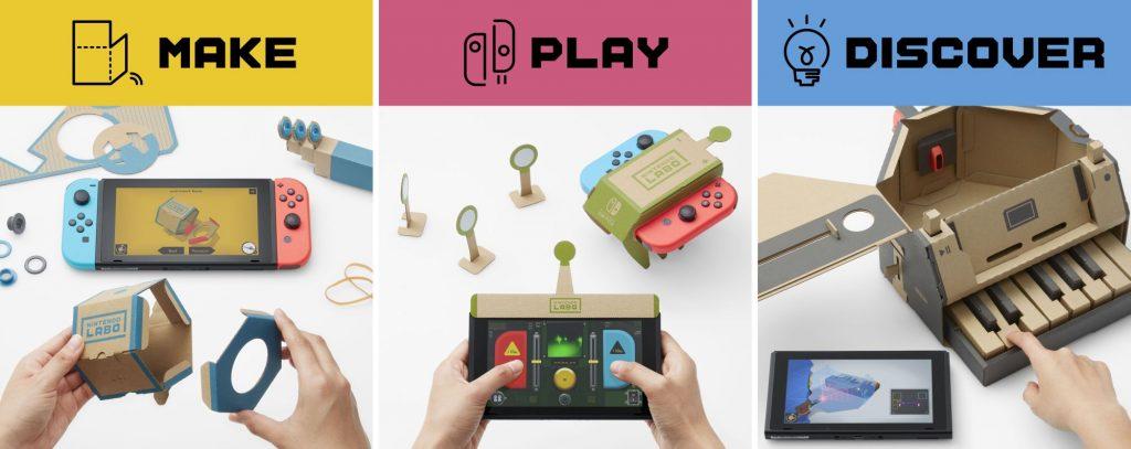 Esto es LABO, lo nuevo de Nintendo
