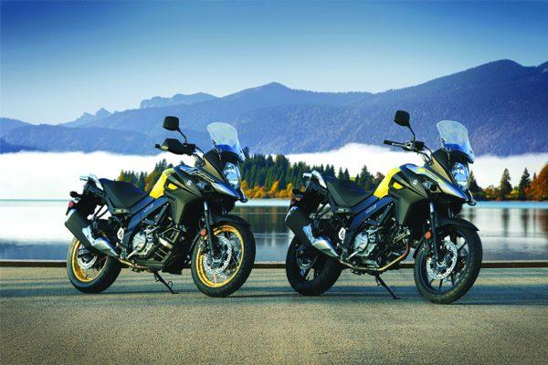 La nueva y renovada gama de motos Suzuki 2018
