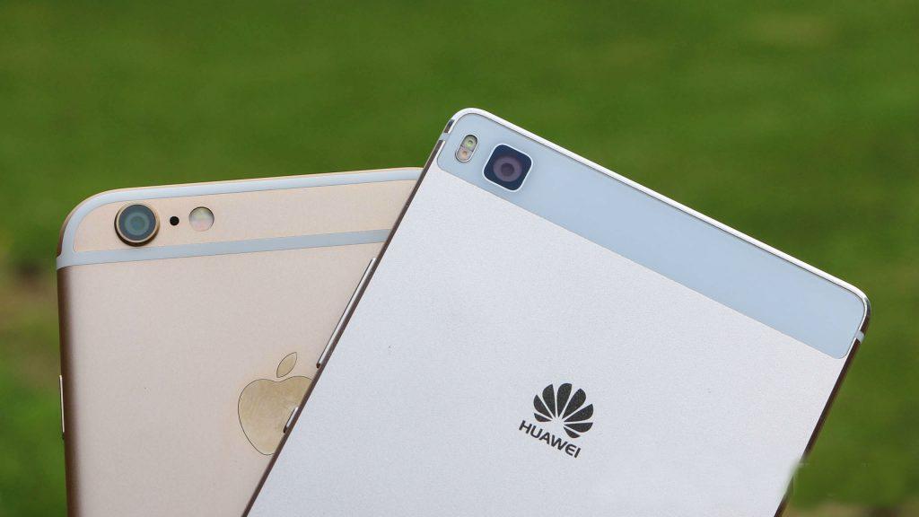 Huawei golpea a Apple y lo supera en las ventas