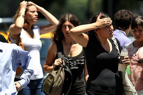 Estiman temperaturas superiores a 39 grados para 2019