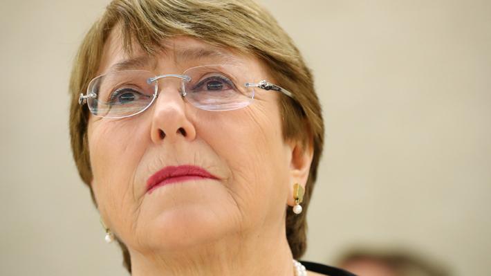 """Para Bachelet la violación de derechos en Venezuela """"ha sido exacerbada por sanciones"""""""