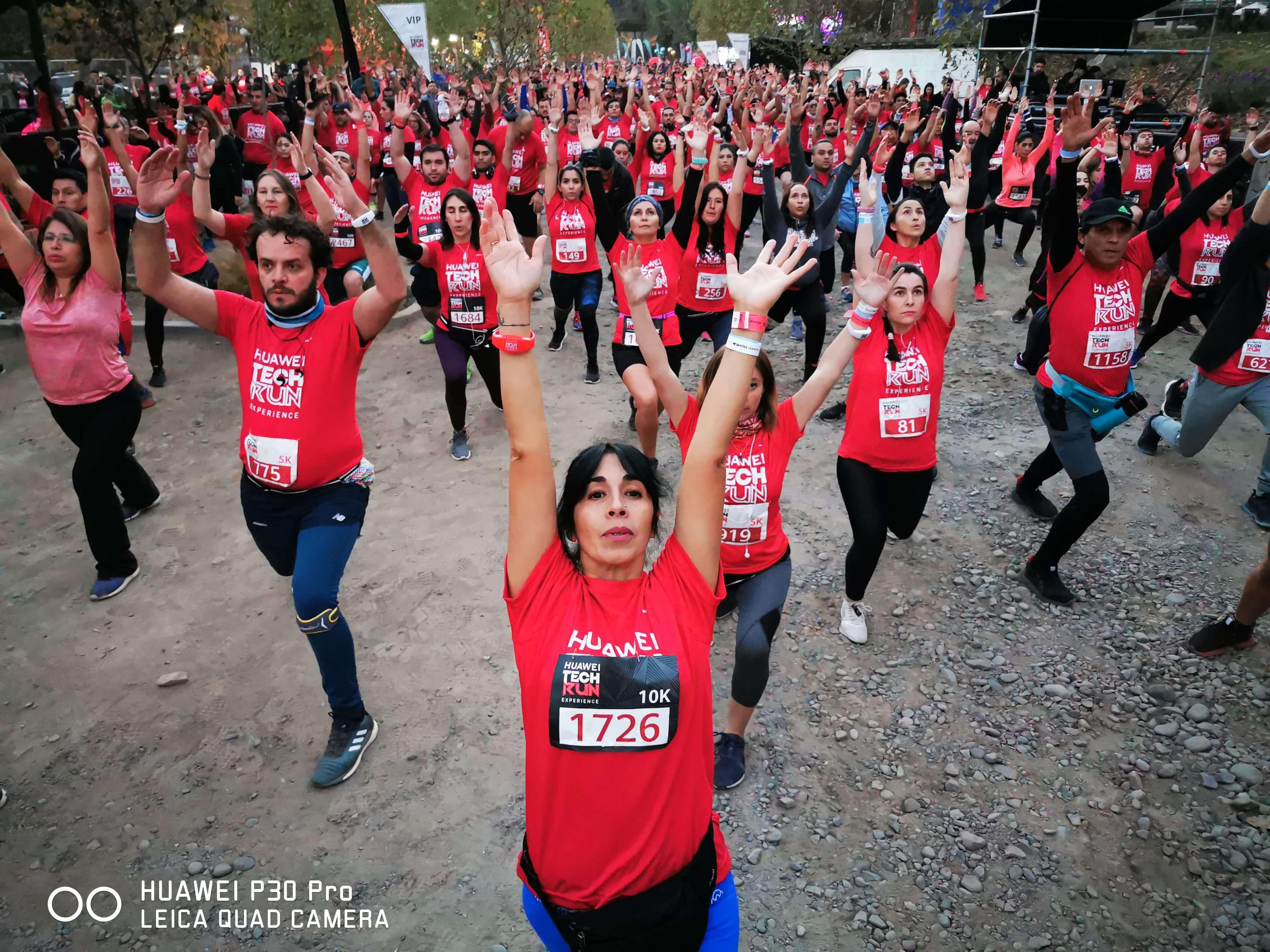 Corrida de Huawei reunió a cerca de 3 mil runners y se convirtió en una de las carreras más innovadoras del año